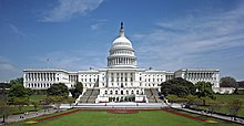 The West Front of the United States Capitol. Photo: Wikipedia