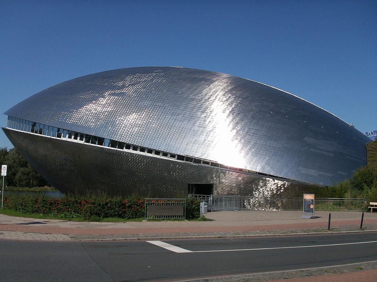 bremen universum science center germany wikipedia museum file commons wikimedia park modern shaped германия c2 ae