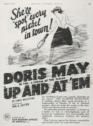 Up and at 'Em - 1922 magazine advertisement