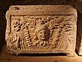 Urnette della collezione bargagli petrucci, 06 testa di gorgone alata.jpg