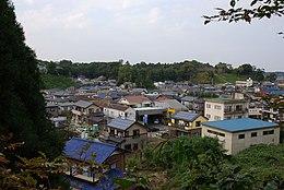 臼井城遠景