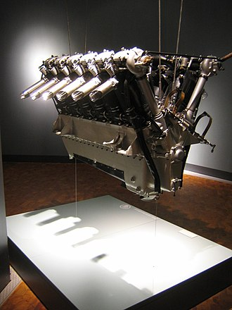 V12 engine - 1926 BMW VI, water-cooled V12 aircraft engine