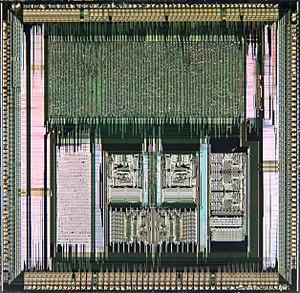 Carver Mead - Image: VLSI VL82C486 Single Chip 486 System Controller V