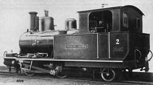 BVZ Zermatt-Bahn - Steam loco No. 2