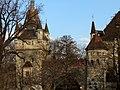 Vajdahunyad castle, west part, 2013 Budapest (344) (13228074174).jpg