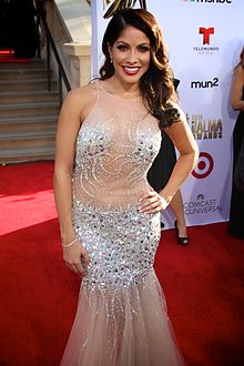 Valery Ortiz at the 2014 Alma Awards.jpg