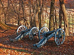 Valley Forge Cannon in Autumn.jpg