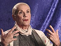 Maila Nurmi as she appeared in the 2001 documentary Schlock! The Secret History of American Movies