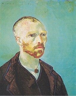 Van Gogh - Selbstbildnis (Paul Gauguin gewidmet)