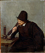Van Ostade, Adriaen - A Man Smoking - Google Art Project.jpg