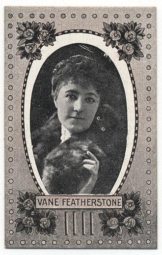 Vane Featherston - Image: Vane Featherstone