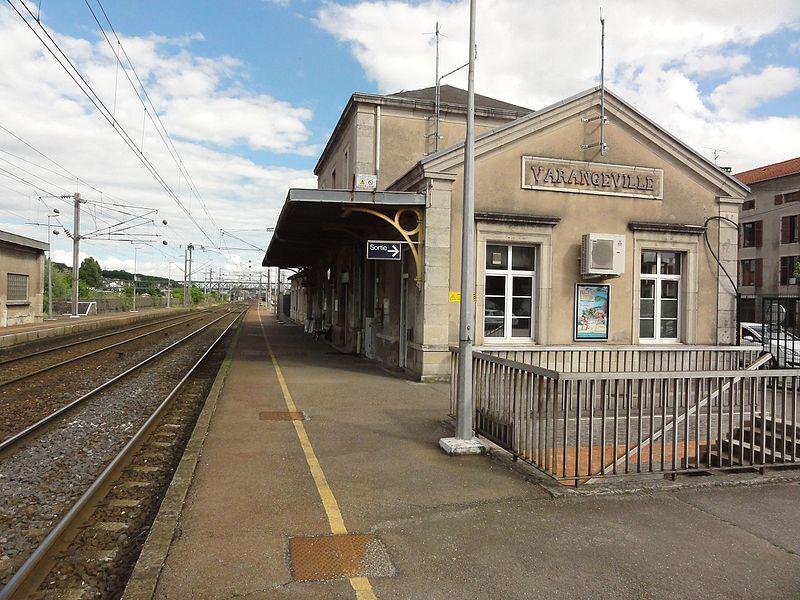 Varangéville (M-et-M) la gare