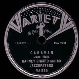 Caravan (1936 song) - Original 1936 label