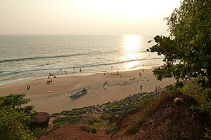 Varkala Beach - Sunset at Varkala Beach