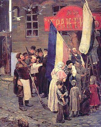 Battle of Kars - Image: Vasnetsov Kars color adj