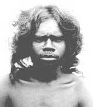 Australoid race - A Veddah man from Sri Lanka with Australoid physical traits.