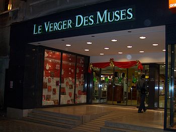 Librairie à Bourg-la-Reine.