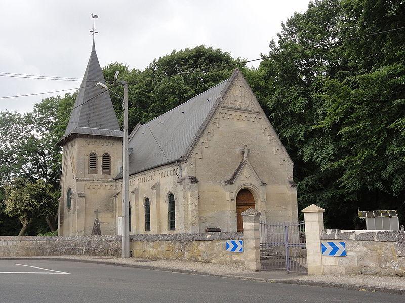 Verneuil-sous-Coucy (Aisne) église