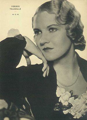 Verree Teasdale - Teasdale c. 1933