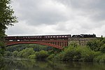 Victoria Bridge On the Severn Valley Railway.