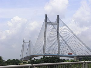 Ishwar Chandra Vidyasagar - Vidyasagar Setu, which connects Howrah and Kolkata, is named after him