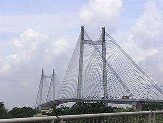 Ishwar Chandra Vidyasagar - Vidyasagar Setu, which connects Howrah and Kolkata, is named after him