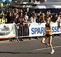 Vienna 2013-04-14 Vienna City Marathon - F4 Rosaria Console, ITA, preparing for race b.jpg