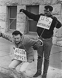 Protest proti vojne vo vietname v roku 1967