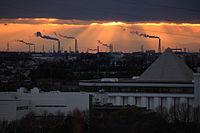 View from Futamurayama Observation Deck (Winter)1, Toyoake 2010.JPG