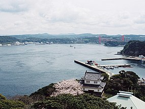 View of Hirado Strait from Hirado castle Nagasaki,JAPAN.jpg