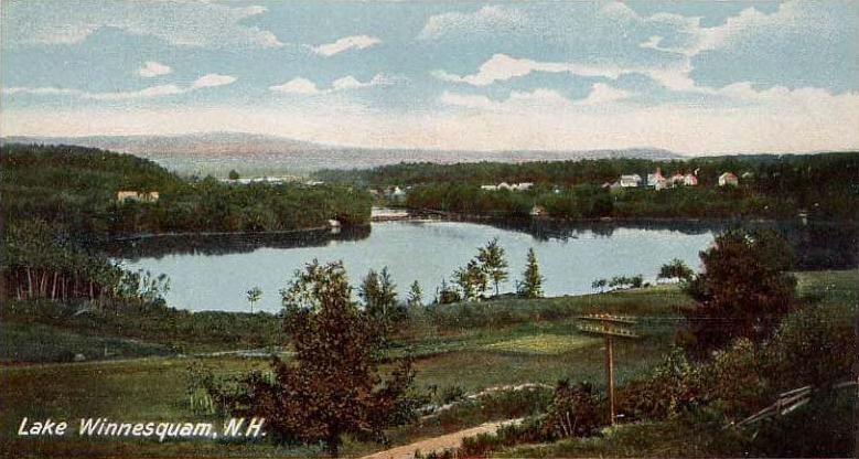 View of Lake Winnisquam, NH