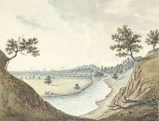 View of the River Severn