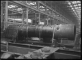 View of the boiler for C class 2-6-2 steam locomotive, New Zealand Railways no 851, under construction at Hutt Railway Workshops, Woburn. ATLIB 290101.png