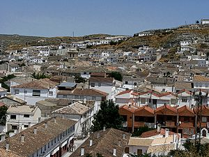 View over the Rooftops of Galera, Spain - panoramio.jpg