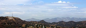 Hollywood Hills - The Hollywood Hills and the Hollywood Sign