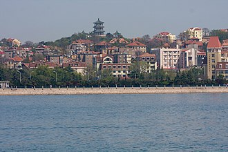 Shinan District - Shinan District as seen from the harbor