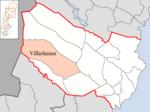 Lage der Gemeinde Vilhelmina