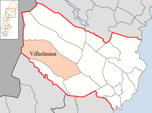 Vilhelmina Municipality in Västerbotten County.png