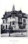 Villa, Karl Tauchnitzstrasse 61, Leipzig, Architekt E. M. Pommer, Leipzig, Tafel 69, Kick Jahrgang II.jpg