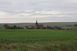 A general view of Chéry-Chartreuve