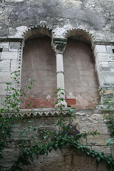 Villemagne-l'Argentière (Hérault) - Maison des Monnaies - fenêtre 4