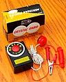 Vintage Miniman Phone Germanium Pocket Crystal Radio, Model M-703, AM Band, Made In Japan, Circa 1958 (48630851483).jpg