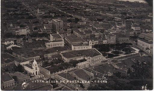 Vista aerea de Fortaleza, 1936
