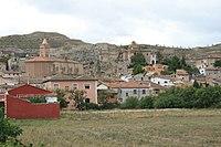 Vista de Belmonte de Gracián, Zaragoza, España, 2015-09-16, JD 04.JPG