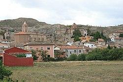 Vista de Belmonte de Gracián, Saragosse, Espagne, 16/09/2015, JD 04.JPG