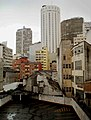 Vista do minhocão - Edifício Itália e o Hilton Hotel.jpg