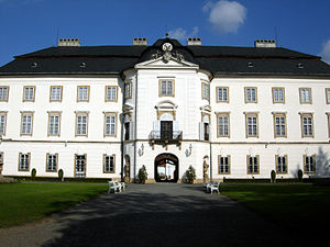 Vizovice - Vizovice chateau