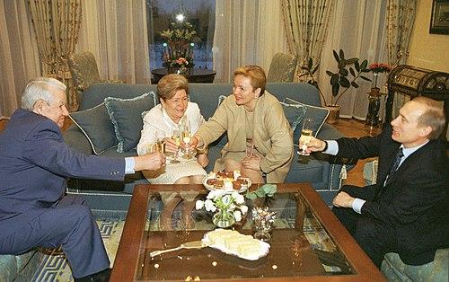 Vladimir Putin 1 February 2002-2