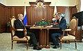 Vladimir Putin and Oleg Khorokhordin (2019-07-16) 1.jpg