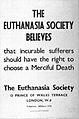 Voluntary Euthanasia Society Poster. Wellcome L0028037.jpg